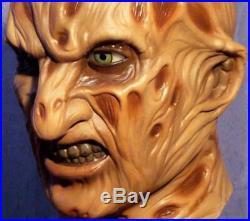 FREDDY KRUEGER LATEX MASK - Costume Prop Cosplay Nightmare Elm Street Halloween