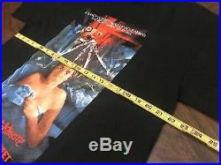 FREDDY KRUEGER NIGHTMARE ON ELM STREET LARGE SHIRT VTG 2000 horror Movie Promo