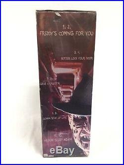 FREDDY KRUEGER Nightmare Elm Street NECA 18 Motion Activated Sound Figure NIB