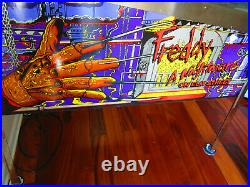 FREDDY NIGHTMARE on ELM STREET Pinball Machine GOTTLIEB 1994 (LED & Excellent)