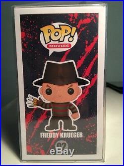 FUNKO POP A NIGHTMARE ELM STREET FREDDY KRUEGER #02 CHASE Free Case IN STOCK