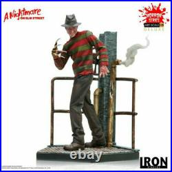 Freddy 110 Scale Iron Studios WBHOR21319-10 A Nightmare on Elm Street Statue To