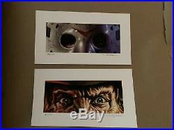 Freddy And Jason EWAF Edmiston Mondo Friday The 13th Nightmare On Elm Street
