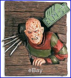 Freddy Krueger 3d Wall Art Breaker Halloween Decor Prop Nightmare On Elm Street