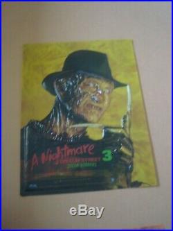 Freddy Krueger / A Nightmare On Elm Street 4 X 3d Posters