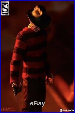 Freddy Krueger EXCLUSIVE Sideshow 12 Figure A Nightmare On Elm Street MIB 1/6