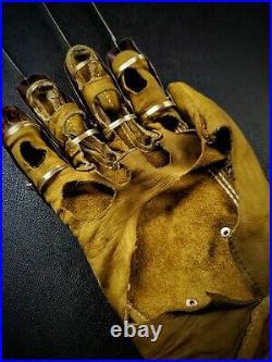 Freddy Krueger Glove A Nightmare on Elm Street part 1 movie replica glove