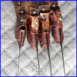 Freddy Krueger Glove Nightmare On Elm Street Pt. 4 Template Glove Mike Becker