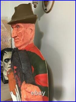 Freddy Krueger Halloween Light Nightmare Elm Street Decoration Display Vintage