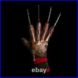 Freddy Krueger Nightmare On Elm Street 2 Deluxe Halloween Metal Glove Prop