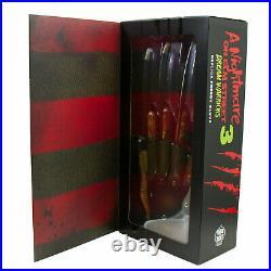 Freddy Krueger Nightmare On Elm Street 3 Halloween Costume Metal Glove Prop