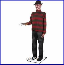 Freddy Krueger Nightmare on Elm Street Life-Sized Animatronic 6ft New