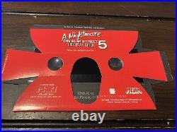 Freddy Krueger Nightmare on Elm Street The Dream Child 3D Promo Binoculars RARE