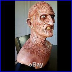 Freddy Krueger life-size bust A Nightmare on Elm Street resin prop head not mask