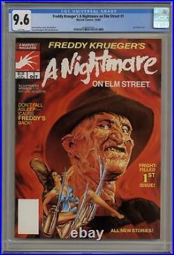 Freddy Krueger's A Nightmare on Elm Street #1 CGC 9.6 1989 3798403004