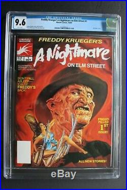Freddy Krueger's A Nightmare on Elm Street #1 Marvel 1st COMIC 1989 CGC NM+ 9.6