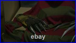 Freddy Kruger. A Nightmare On Elm Street. Mask And Gloves
