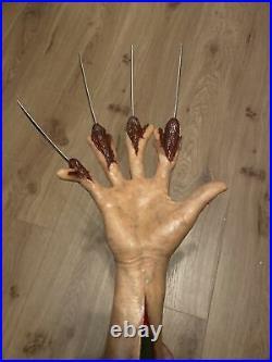 Freddy krueger Hand Prop Nightmare On Elm Street 2 Life Size
