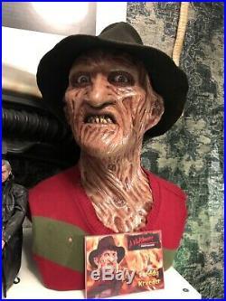 Freddy krueger Life Size Bust Nightmare On Elm Street 2