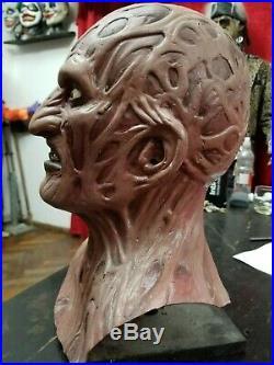 Freddy krueger latex mask nightmare on elm Street Robert England demon of dream