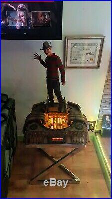 Freddy krueger nightmare on elm Street Elite Creature Collectibles sideshow