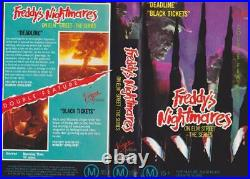 Freddy's Nightmare On Elm Street The Series Vhs Video Pal A Rare Find