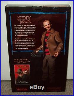 Freddy vs. Jason Exclusive Sideshow Figure MIB Krueger A Nightmare On Elm Street