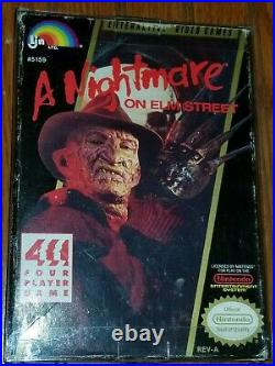 Friday the 13th & Nightmare On Elm Street NES Games CIB (Tested Works Great)