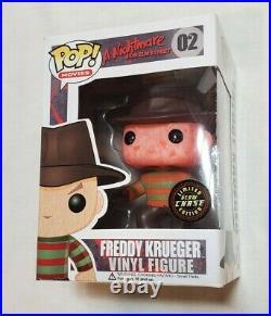 Funko POP! Movies FREDDY KRUEGER CHASE #02 Horror Nightmare On Elm Street RARE
