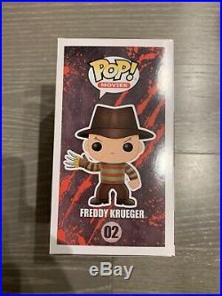 Funko POP! Nightmare On Elm Street FREDDY KRUEGER CHASE Glow In Dark withProtector