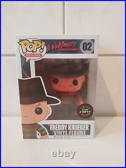 Funko Pop Movies 02 A Nightmare on Elm Street Freddy Krueger Glow Chase
