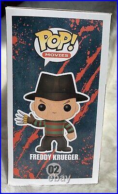 Funko Pop Nightmare On Elm Street Freddy Krueger GLOW CHASE GRAIL #02