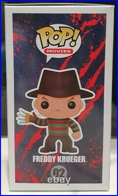 Funko Pop! Vinyl Freddy Krueger #02 Nightmare On Elm Street GLOW CHASE Rare