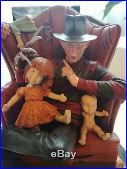 Gentle Giant Nightmare On Elm Street Freddy Krueger Statue Limited To 1500 Rare