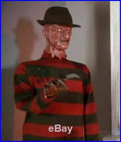 Halloween Animated Lifesize A Nightmare on Elm Street FREDDY KRUEGER GEMMY Prop
