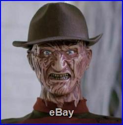 Halloween Lifesize Animatronic GEMMY FREDDY KRUEGER Prop Nightmare on Elm Street
