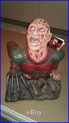 Huge 24 Inches Tall Nightmare On Elm Street Freddy Krueger Ground Breaker New