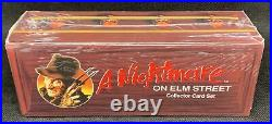 Impel A Nightmare On Elm Street Collectors Card Set Factory Sealed Box QTY