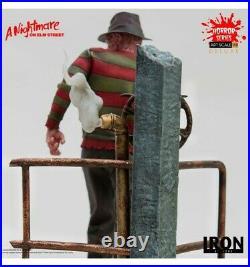 Iron Studio Horror Series A Nightmare On Elm Street Freddy Krueger Delux