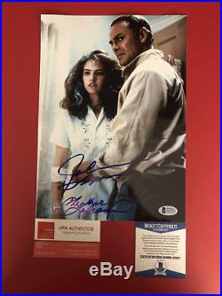 John Saxon and Heather Langenkamp signed 8 x 11 Nightmare on Elm Street Photo