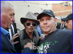 Johnny Depp A Nightmare On Elm Street autographed photo signed 10X15 #4 Glen L