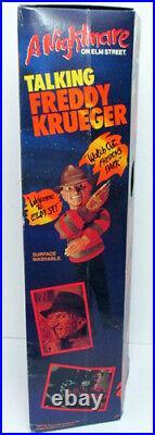 Matchbox Nightmare On Elm Street Talking Freddy Krueger 18 Figure Doll Sealed
