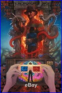 Matthew Peak Freddy's Dead Nightmare Elm Street Art Print Variant Poster #/50