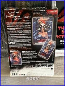 McFarlane 3-d Movie Poster A Nightmare on Elm Street