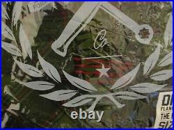 Mens DIXXON Nightmare flannel shirt Large L Reg Green Black Red Plaid elm street