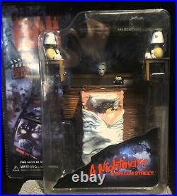 Mezco Cinema Of Fear Nightmare On Elm Street Scream Scene