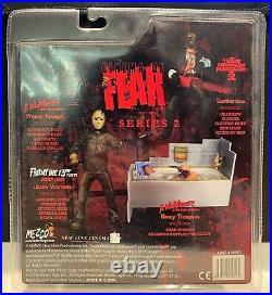 Mezco Cinema of Fear s2 Nightmare on Elm Street NANCY THOMPSON Tub Scene Figure