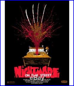 Mondo A Nightmare on Elm Street Alex Pardee Limited Edition Screenprint Poster