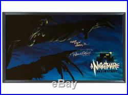 Mondo Poster A Nightmare on Elm Street Mike Saputo Signed R. Englund COA