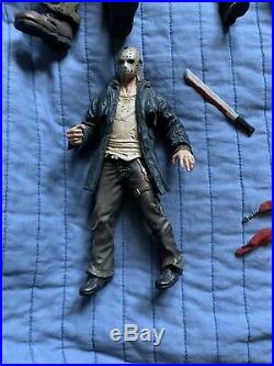 NECA Mezco Nightmare On Elm Street Friday The 13th Lot Of Action Figures Freddy